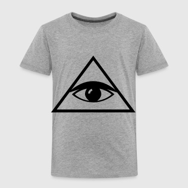 all seeing eye - Toddler Premium T-Shirt