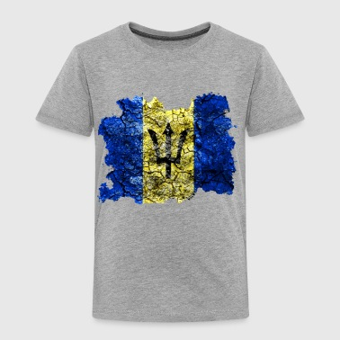 Barbados Vintage Flag - Toddler Premium T-Shirt