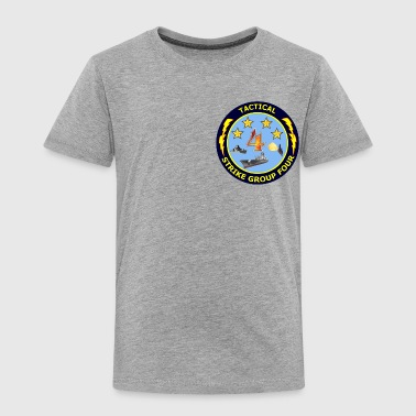 Tactical Strike Group 4 552x542 - Toddler Premium T-Shirt