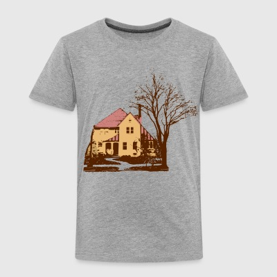 House & Tree - Toddler Premium T-Shirt