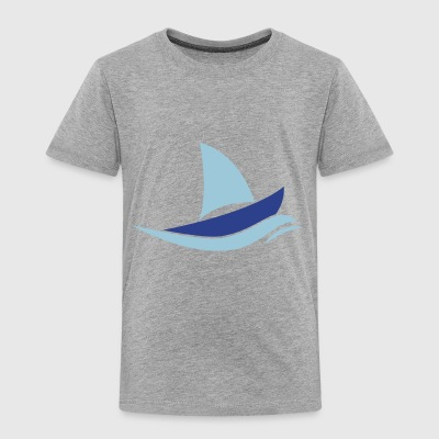 sail boat - Toddler Premium T-Shirt