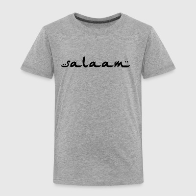 salaam black - Toddler Premium T-Shirt