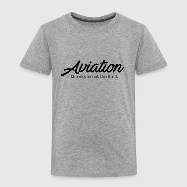 aviation - Toddler Premium T-Shirt