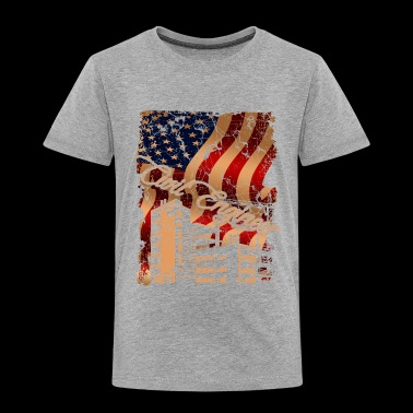Civil Engineer Flag Shirt - Toddler Premium T-Shirt