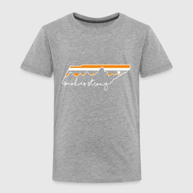 Smokies strong Gatlinburg t shirt - Toddler Premium T-Shirt
