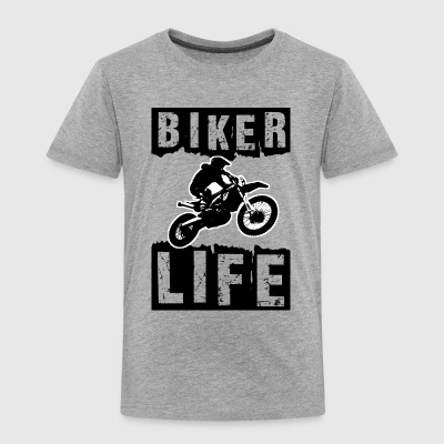 Biker - Toddler Premium T-Shirt