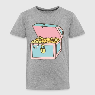 treasure chest - Toddler Premium T-Shirt