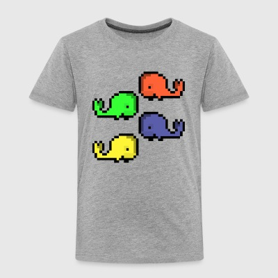 Whale Party! - Toddler Premium T-Shirt