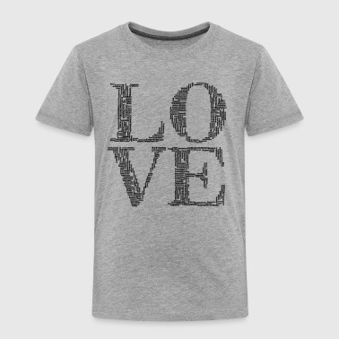 love humans people person - Toddler Premium T-Shirt