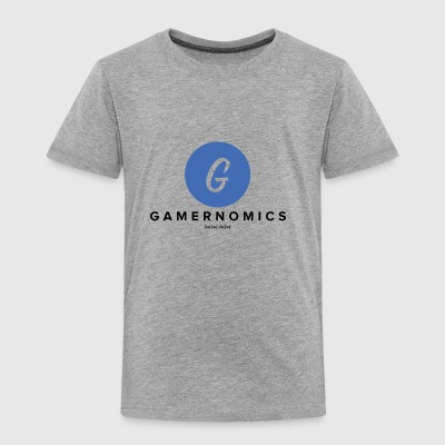 GamerNomics Logo - Toddler Premium T-Shirt