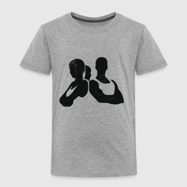 COUPLE FITNESS - Toddler Premium T-Shirt
