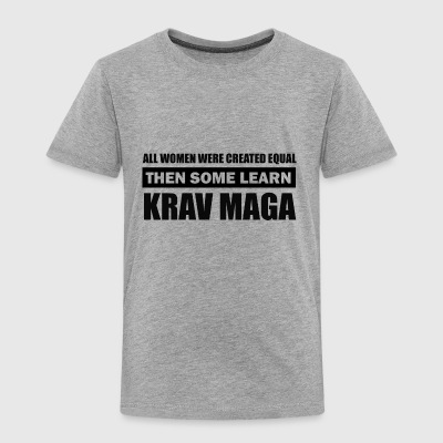 kravmaga design - Toddler Premium T-Shirt