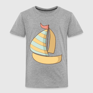 Boat - Toddler Premium T-Shirt