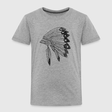 Indian Headdress - Toddler Premium T-Shirt