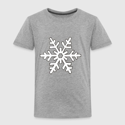 snowflake 1 - Toddler Premium T-Shirt