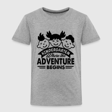 Kindergarten Teacher Advent Shirt - Toddler Premium T-Shirt