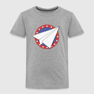 Paper Airplane - Toddler Premium T-Shirt