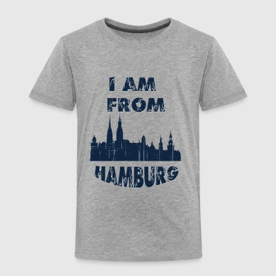 HAMBURG I am from - Toddler Premium T-Shirt