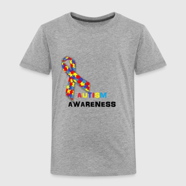 AutismRibbon - Toddler Premium T-Shirt