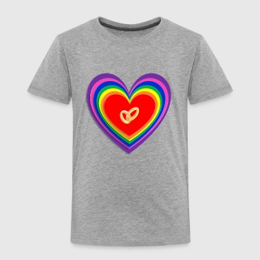 GAY ENGAGEMENT RING - Toddler Premium T-Shirt