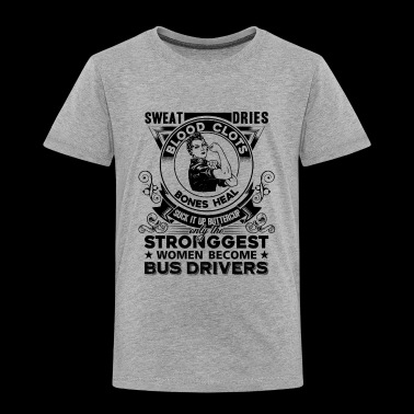Bus Driver Shirt - Toddler Premium T-Shirt