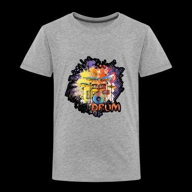 Drum Shirt - Drum T shirt - Toddler Premium T-Shirt