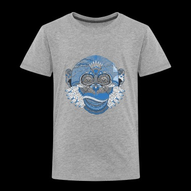 Ape monkey pattern Tattoo Style - Toddler Premium T-Shirt