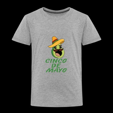 avocado text2 - Toddler Premium T-Shirt
