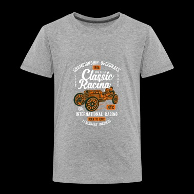 Classic Racing - Toddler Premium T-Shirt