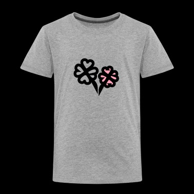 four-leaf clover - Toddler Premium T-Shirt