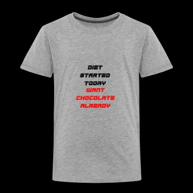 diet - Toddler Premium T-Shirt