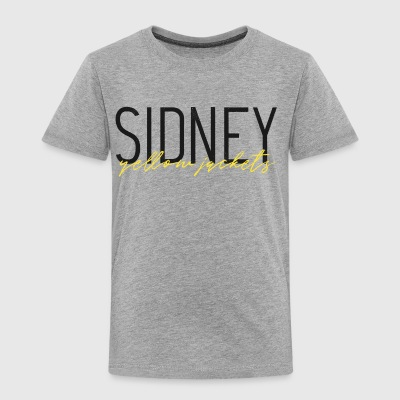 Sidney Yellow Jackets - Toddler Premium T-Shirt