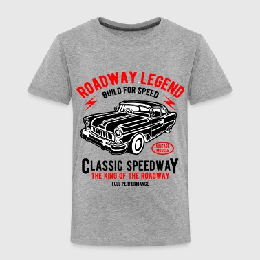 Roadway Legend - Vintage, Classic Car T shirt - Toddler Premium T-Shirt