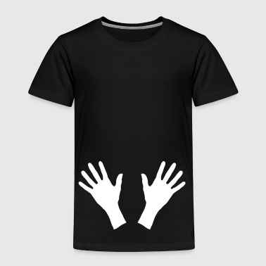 hands, handprint - Toddler Premium T-Shirt