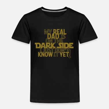 Join The Dark Side Dark Side Dad - Toddler Premium T-Shirt