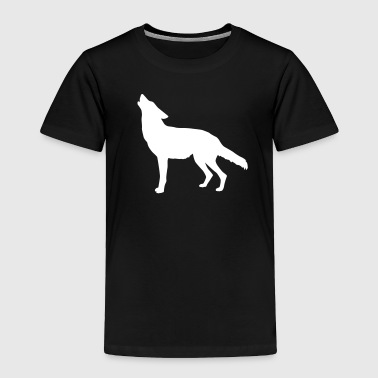 coyote howling - Toddler Premium T-Shirt