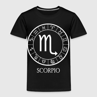 Scorpio astrological zodiac sign - Toddler Premium T-Shirt