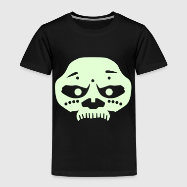 Voodoo Mask (Solid) - Toddler Premium T-Shirt