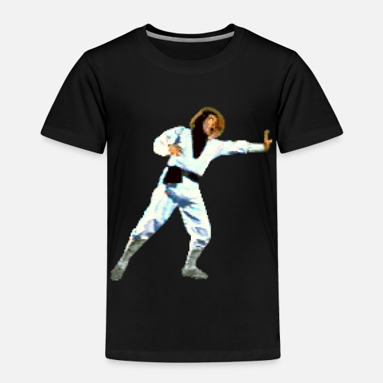 f387633c Kombat Baby Clothing - Raiden - Toddler Premium T-Shirt black