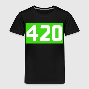 420 Cannabis green - Toddler Premium T-Shirt