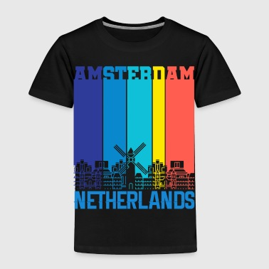 Holland Amsterdam Holland Netherlands - Toddler Premium T-Shirt