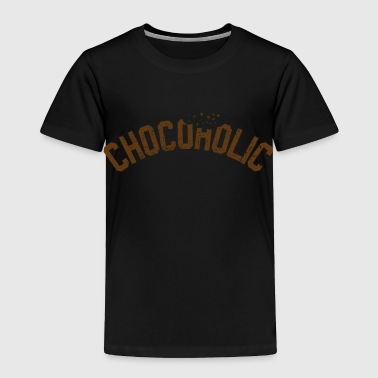 Chocolate Lover Vintage chocolates addicted lovers - Toddler Premium T-Shirt