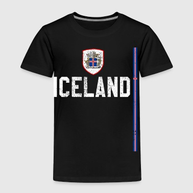 Lady Iceland retro sports jersey - Toddler Premium T-Shirt