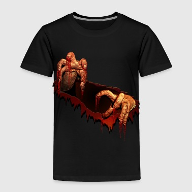Zombie Shirts Gory Halloween Scary Zombie Gifts  - Toddler Premium T-Shirt