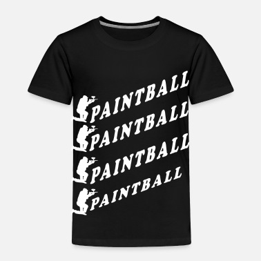 Paintball paintball - Toddler Premium T-Shirt