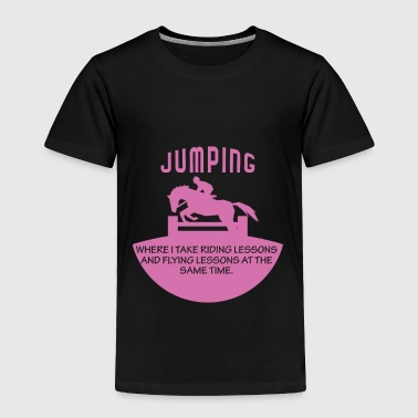 Horse Jumping - Toddler Premium T-Shirt