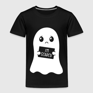 I'm Scared Ghost Halloween Kids Gift - Toddler Premium T-Shirt