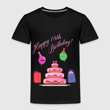 18th Birthday - Toddler Premium T-Shirt