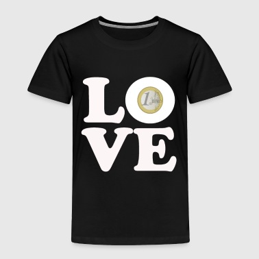 love euro - Toddler Premium T-Shirt