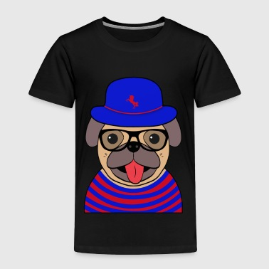 Funny cool Pug - Toddler Premium T-Shirt